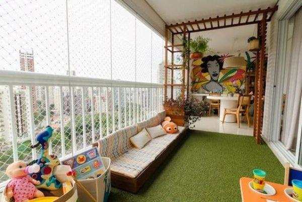 Parco giochi in casa - Fonte Pinterest
