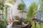 Il balcone può essere la nostra oasi verde personale - Fonte: Pinterest