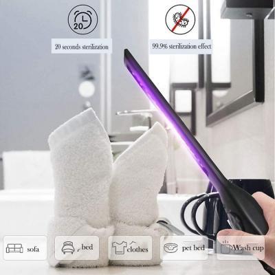 Mini lampada raggi UV portatile su Amazon