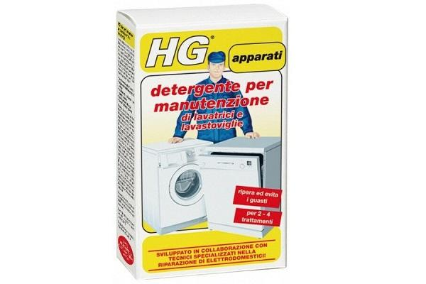 Manutenzione lavastoviglie Hg detergente