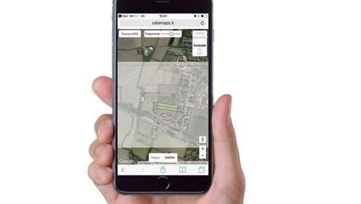 Individuazione confini con smarthphone