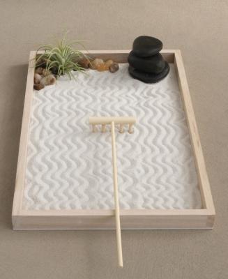Giardino zen da tavolo, da buddhagroove.com