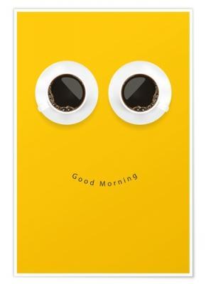 Soggetto poster a tema caffè su Posterlounge.it