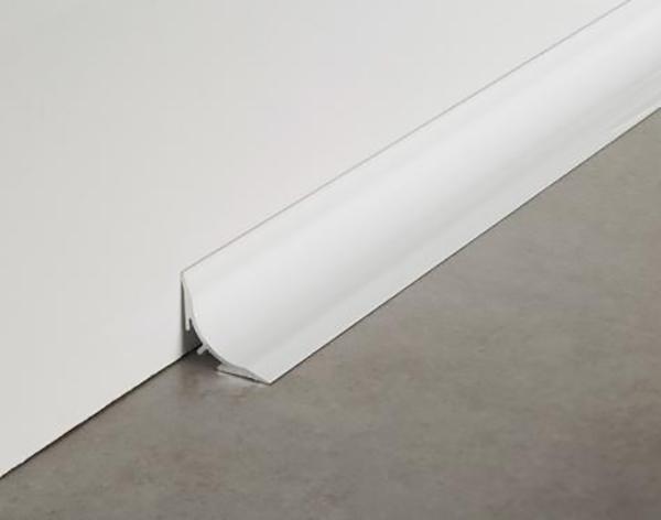 Sguscia sguscio alluminio verniciato Cerfix Proround B by Profilpas