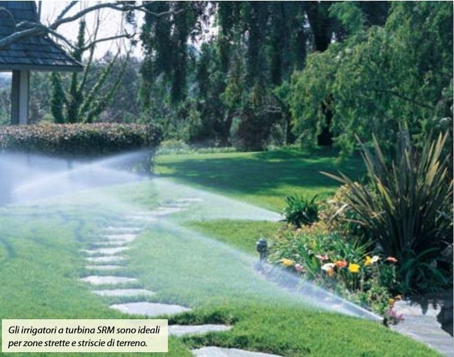 Impianto di irrigazione interrata Hunter