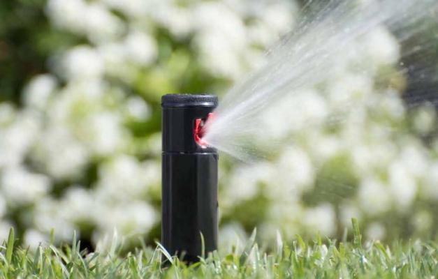 Hunter irrigazione interrata