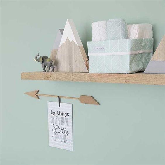 Preferire colori tenui e rilassanti per le pareti della cameretta neonato