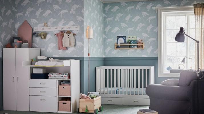 Per arredare una cameretta neonato ci sono tante soluzioni complete