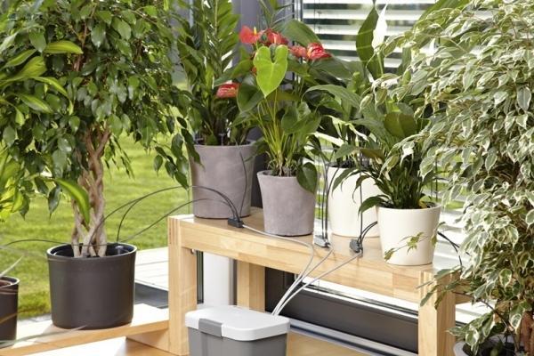 Set irrigazione vacanze con serbatoio di Gardena