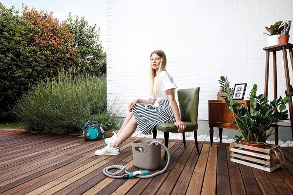 Tubo per innaffiare piante in vaso e in giardino Aquapop 15 di GF Garden su Amazon