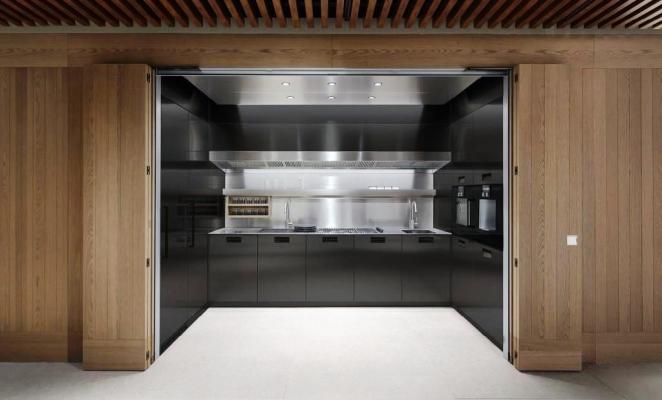 Cucina compatta e Modus System - Arclinea