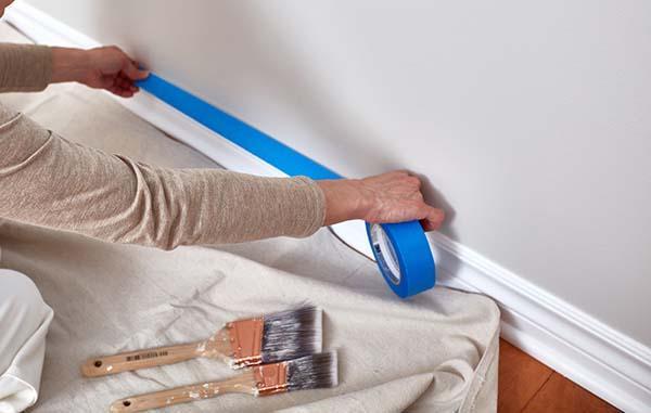 Preparazione e tinteggiatura pareti - nastri di carta Leroy Merlin