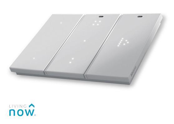 Interruttori elettrici domotici LivingNow di BTicino