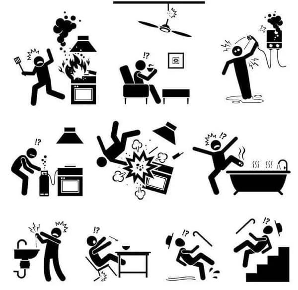 Incidenti domestici, da beonhome.com