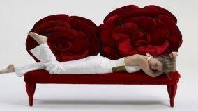 Arredamento romantico ispirato alle rose