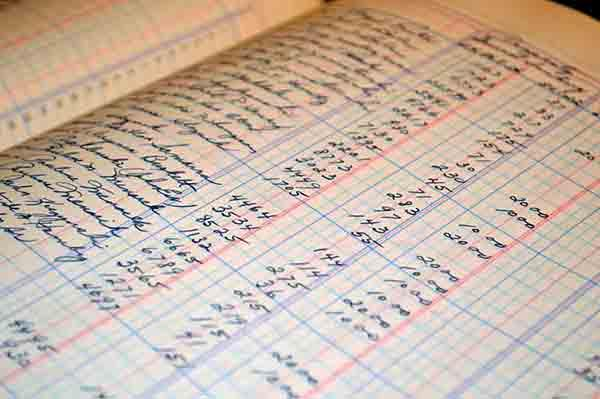 In registro di contabilità riassume l'intera contabilità di cantiere