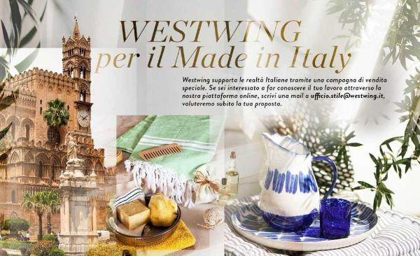 Progetto Westwing per il Made in Italy