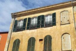 Usura della facciata esposta sotto vento