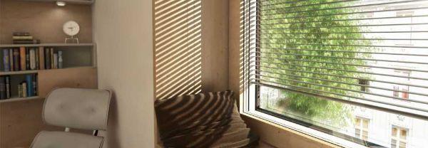 Doppia finestra legno e alluminio di Internorm