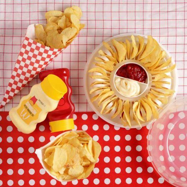 Cuoci chips di patate al microonde su Dmail
