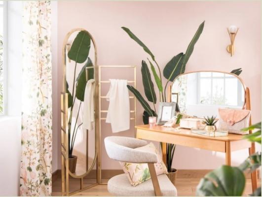 Arredamento color pastello e rilassante di Maisons du Monde