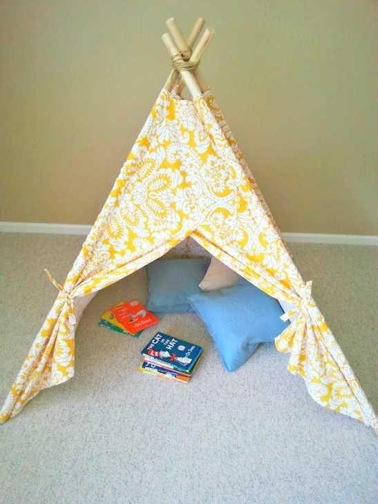 Progetto realizzazione tenda teepee di Divinelifestyle.com