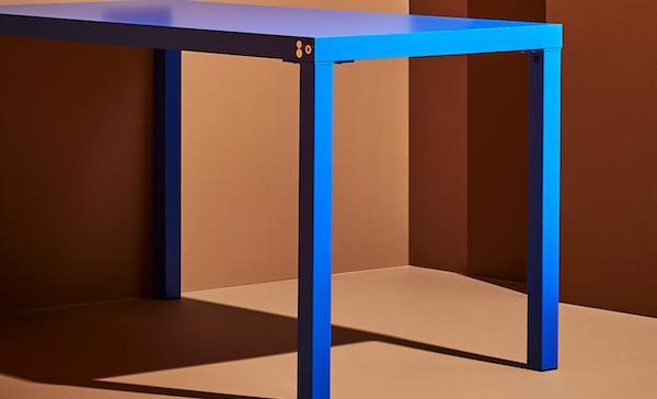 Tavolino blu Fönyad - Foto by Ikea