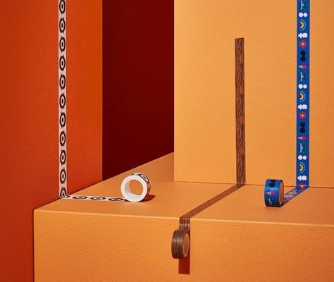 Nastro adesivo colorato Förnyad - Foto by Ikea