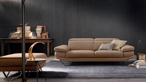 Divano in stile industriale Howard - Design e foto by LeComfort