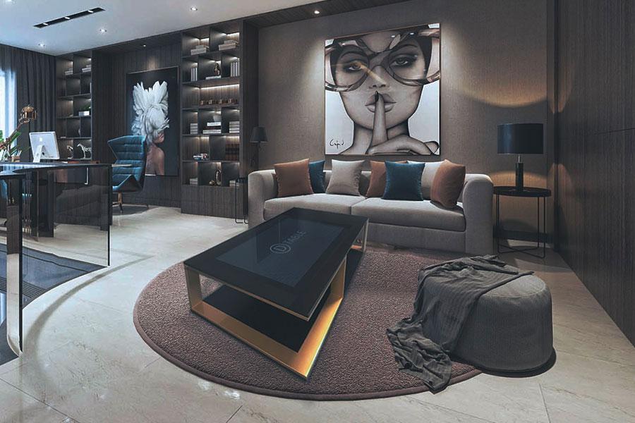 D-Lounge, tavolo interattivo a firma D-Table