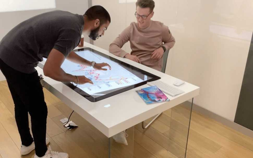 Pro Display, tavolo interattivo