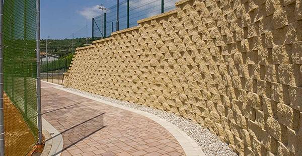 Muro di contenimento Rockwood Sahara - Ferrari BK