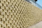 Muro contenimento Rockwood giallo Sahara - MACEVI Group
