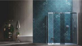 La carta da parati in fibra di vetro per rinnovare bagni e cucine
