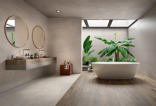 Progettare arredamento casa a contrasto - Marazzi Magnifica