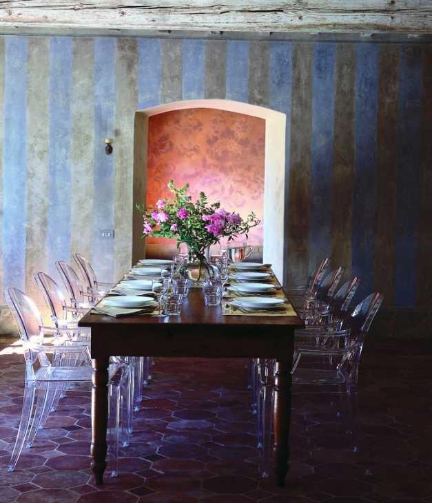 Progetto interni casa - Kartell Luis Ghost