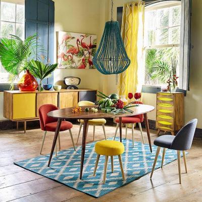 Progettare interni casa con contrasto di toni caldi e freddi - Maisons du Monde