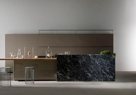 Progettare arredamento casa con materiali a contrasto - Valcucine Artematica