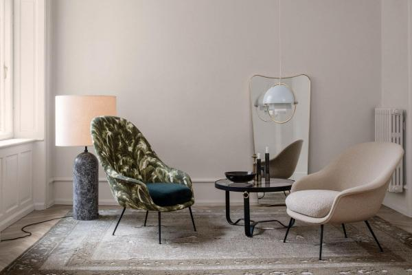 Progettare arredamento casa con luci a contrasto - Gubi