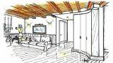 Soffitto in legno con travi a vista: idee e consigli d'arredo