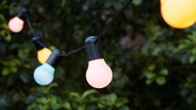 Soluzioni per illuminare il terrazzo nelle sere d'estate