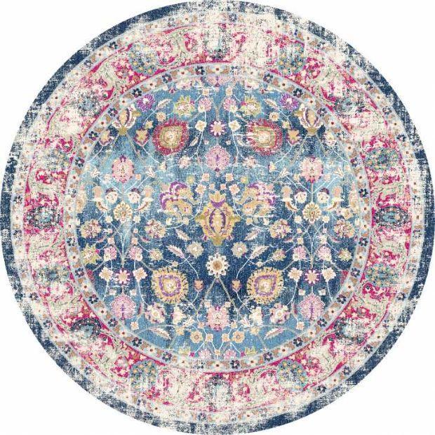 Bouhjar round carpet by Trendcarpet.it