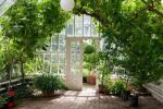 Serra solare tradizionale per piante