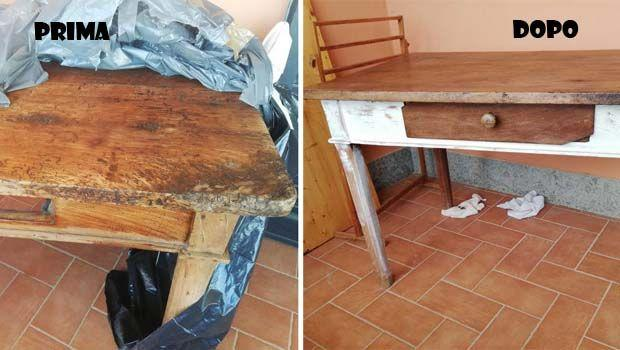 Consigli per il restyling di uno scrittoio il legno col fai da te