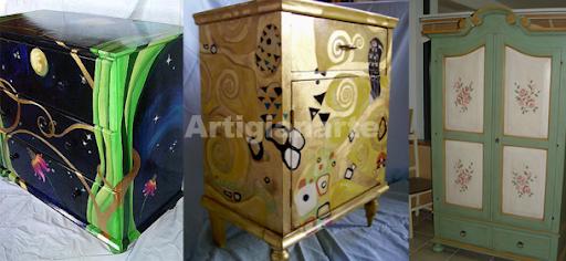 Artigianarte, decorazioni su legno
