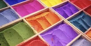Bazar del pittore, pigmenti coloranti