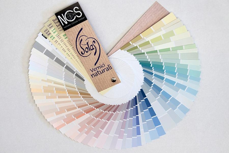 Mazzette colori Solas, Tintometro NCS