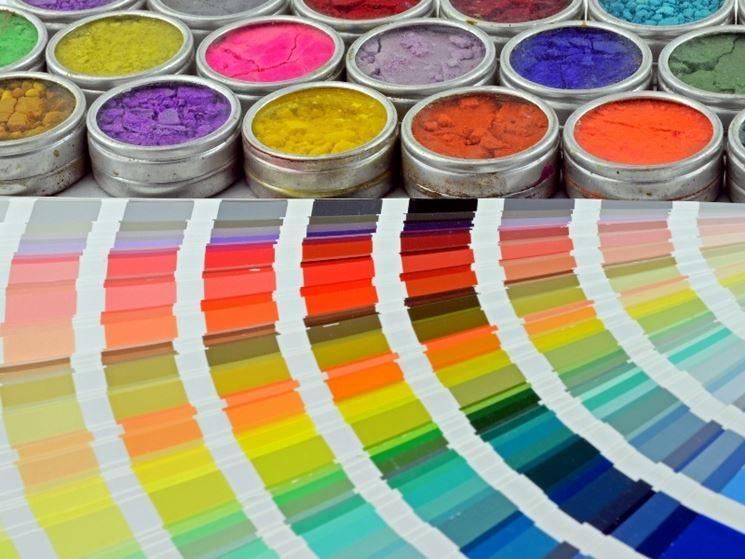 Colori da pigmenti naturali