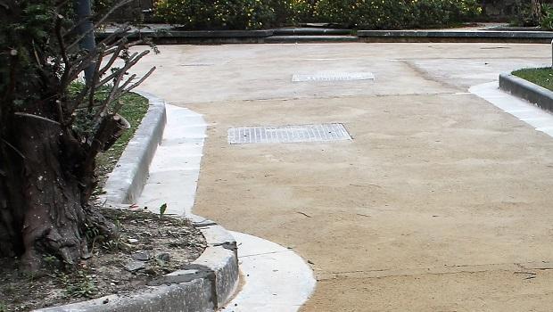 Pavimentazione in battuto di tufo, Lancellottirestauro.com e Zeocalce