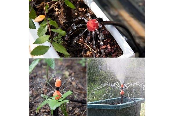 Irrigazione a goccia kit Emooqui da Amazon